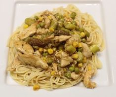 Garlic chicken vermicelli Cooking with chillies recipe Fresh Chicken, Garlic Chicken, How To Cook Chicken, Frozen Vegetables, Mixed Vegetables, Chicken Vermicelli, Garlic Recipes, Most Popular Recipes, Some Recipe