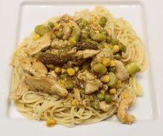 Garlic chicken vermicelli Cooking with chillies recipe Fresh Chicken, Garlic Chicken, How To Cook Chicken, Frozen Vegetables, Mixed Vegetables, Chicken Vermicelli, Garlic Recipes, Most Popular Recipes, Fresh Ginger
