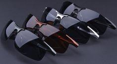 cool 2015 New high-quality aluminum magnesium polarized sunglasses men motorcycles sun glasses oculos de sol masculino