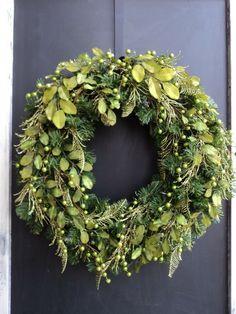 Mono Chromatic ALL Green Wreath