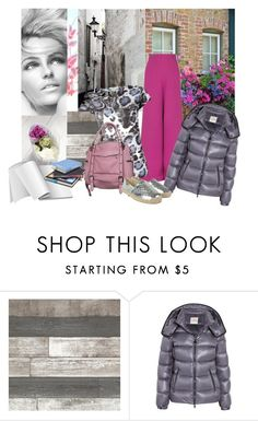 """""""PUFFER JACKET"""" by samsalles ❤ liked on Polyvore featuring Delpozo, Moncler, MICHAEL Michael Kors, net and vanmildert"""