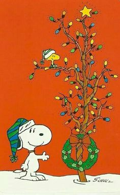 #Schulz #Snoopy #Woodstock #Christmas