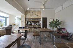 Cafe bonbon|施工例|山梨の注文住宅「光と風設計社」シンプルナチュラルモダンな住宅を設計します。