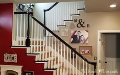 Cheap Carpet Runners For Stairs Code: 4361191233 Stair Banister, Banisters, Banister Ideas, Railings, Staircase Remodel, Staircase Makeover, Stained Staircase, Diy Carpet, Wall Carpet