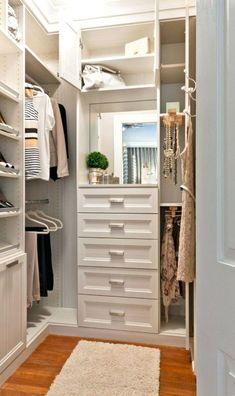 Having a stroll in walkin closet in your home Beautiful SaveEmail walk in closet design Closet Walk-in, Closet Storage, Storage Drawers, Wardrobe Storage, Storage Mirror, Closet Mirror, Drawers In Closet, Closet Shelving, Shoe Shelves