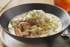 Slow-Cooked Pork Stew with Dumplings Recipe
