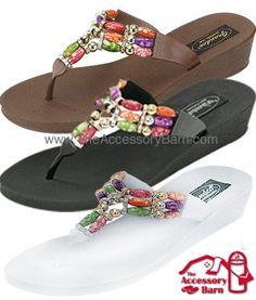 9c6b1aa69 9453 Grandco Sandals - Triple Vases