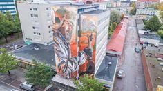 Das Mural von Smug One für das UPEA17  Bereits im September fand in der finnischen Stadt Kotka das Street-Art-Festival UPEA17 statt. An dem nahmen mehrere Künstler teil, deren Arbeiten e...