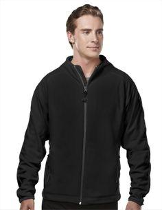 Men's Jacket Micro Fleece With Trim. Tri mountain 7250 #goodtogo #workout  #Jacket #sporty