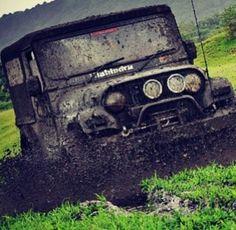 Mahindra Thar Off-Roading