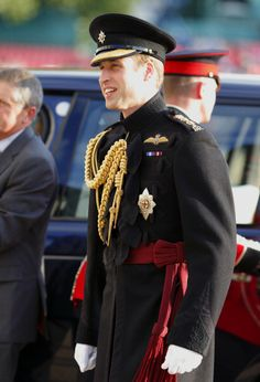 LONDON, UNITED KINGDOM - JUNE 12: (EMBARGOED FOR PUBLICATION IN UK NEWSPAPERS UNTIL 48 HOURS AFTER CREATE DATE AND TIME) Prince William, Duke of Cambridge, in his role as Colonel of the Irish Guards, attends the Household Division's Beating Retreat on Horse Guards Parade on June 12, 2014 in London, England. (Photo by Max Mumby/Indigo/Getty Images)