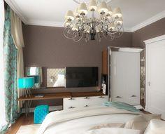 Квартира.ЖК Кедровый. Спальня