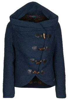 Oh my... Love this coat! :) Especially if it has a hood and is made of synthetic fibers or cotton :)