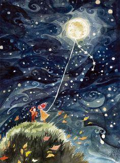 Pinzellades al món: Ball de la lluna / Baile de la luna / Dance of the Moon