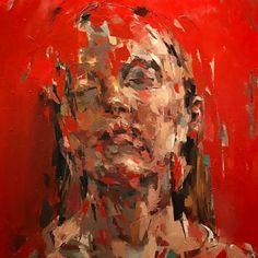 Abstract Portrait Painting, Figure Painting, A Level Art Sketchbook, Scribble Art, Ap Art, Distortion, Art Portfolio, Medium Art, Creative Art