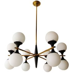 """""""Arredoluce"""" 12-light Chandelier 