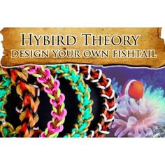 Justin's Toys Hybrid Theory Design Your Own Fishtail Stitches