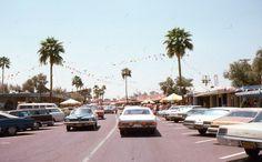 7 35mm Slide Phoenix Street Scenes Cars Stores People 1975 Kodachrome Original
