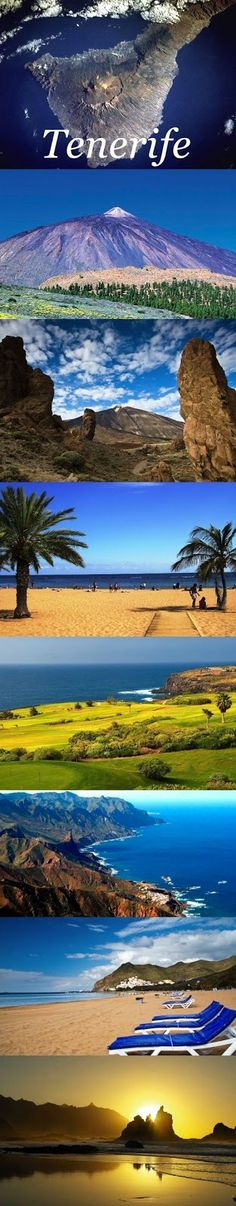 The beautiful landscapes of Tenerife, Canary Islands