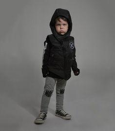 keep them warm and looking sharp all season long in our down vest Down Vest-NUNUNU www.studiokidz.ca #nununu