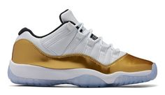 5b1e89a1e451 Air Jordan 11 Low White Gold Olympic Release Date. Air Jordan 11 Low  Closing Ceremony Release Date August 2016