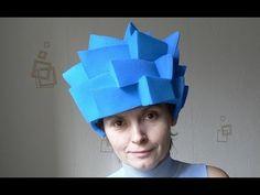 Фиксики. Как сделать шапочку-парик для костюма Нолика. - YouTube