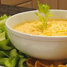 Buffalo Chicken Dip( low carb).