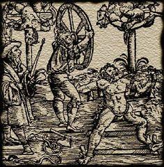Disemboweled Feudalism: Most Grim Medieval Tortures: Breaking Wheel