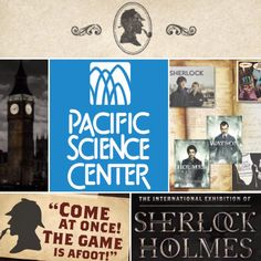 Win 4 tickets to the Sherlock Exhibition from the Pacific Science Center for the most Sherlock costume. 9/24/16 Seattle Steamposium