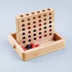 Four For All Game  | The Land of Nod - A cuter version of Connect Four! lol