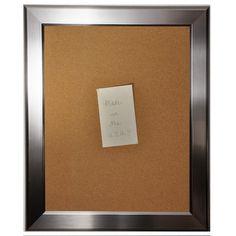 Brayden Studio Avendano Rounded Wall Mounted Bulletin Board Size: