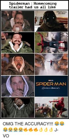 Image result for spiderman homecoming memes