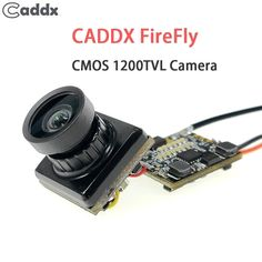 """Caddx Firefly 1/3"""" CMOS 1200TVL 2.1mm Lens 16:9 / 4:3 NTSC/PAL FPV Camera With VTX For RC Multirotor FPV Racing Drone  Price: 43.98 & FREE Shipping  #quadcopter #drone #aerialphotography #FPV Quadcopter Drone, Drones, Cmos Sensor, Aerial Photography, Lens, Racing, Free Shipping, Accessories, Running"""