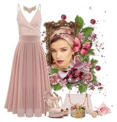 Time for afternoon tea by whiteflower7 on Polyvore featuring polyvore, fashion, style, Casadei, Ted Baker, Carolee, Shablula and clothing