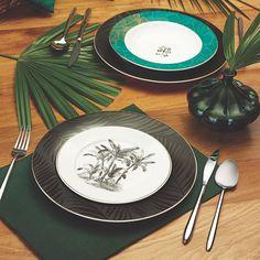 """Karaca on Instagram: """"Soframızda bugün de baharı ağırlayalım. 🍽 💕Kayapo Yemek Takımı Karaca'da."""" My Design, Plates, Tableware, Kitchen, Instagram, Food, Licence Plates, Dishes, Dinnerware"""