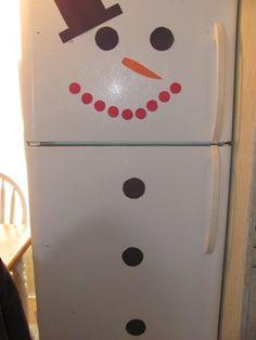 Frosty the Snow Door