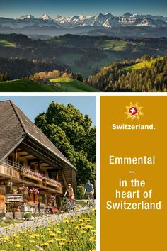 Emmental – Your Swiss region of choice? Switzerland Tourism, Panning For Gold, Swiss Travel, Day Trip, Countryside, Destinations, Hiking, Landscape, Nature