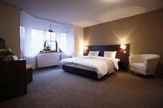 What a huge bedroom!