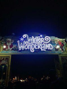 Winter Wonderland, Hyde Park london