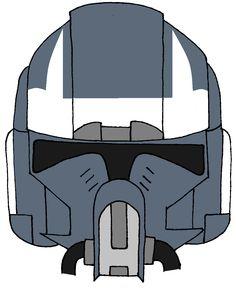 Clone Trooper Helmet Wolfpack 5