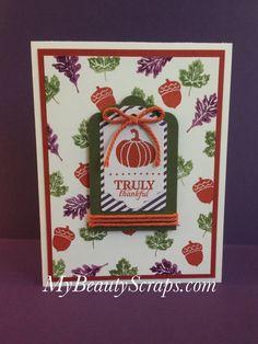 BeautyScraps: September 2015 Stampin' Up! My Paper Pumpkin ...