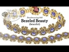 Bezeled Beauty RounDuo® Bracelet - #Seed #Bead #Tutorials