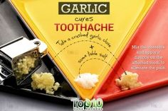 Some of the best home remedies that offer immediate relief from the severe pain caused by toothache. These cures work instantly to treat your tooth pain. Natural Medicine, Herbal Medicine, Severe Tooth Pain, Tooth Pain Relief, Sore Tooth, Remedies For Tooth Ache, Top 10 Home Remedies, Natural Cancer Cures, Cancer Fighting Foods