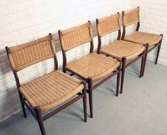 Mid-century Danish Papercord Chairs