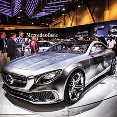 The Concept S-Class Coupe. What better way to start and end the day? #CES