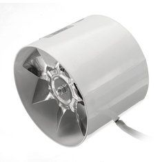 4 Inch 6 Inch Booster Fan Inline Duct Vent Blower Fan Exhaust Fan Tools Vent Blower Exhaust Fan Duct