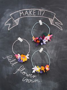 Make It! Felt Flower Crown - Paper and Pin