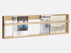 The very best Adult Design brands are available on Smallable, the Family Concept Store. Discover our large and beautiful selection of Small storage items . Home Decor Furniture, Diy Home Decor, Furniture Design, Oak Wall Shelves, Shelving, Diy Magazine Holder, Magazine Rack, Porte Photo Mural, Range Magazine
