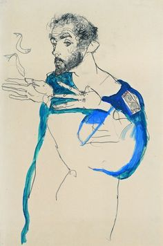 Egon Schiele - Gustav Klimt.