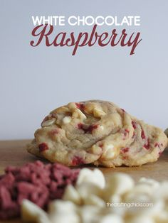 White Chocolate Raspberry Cookies. The BEST.